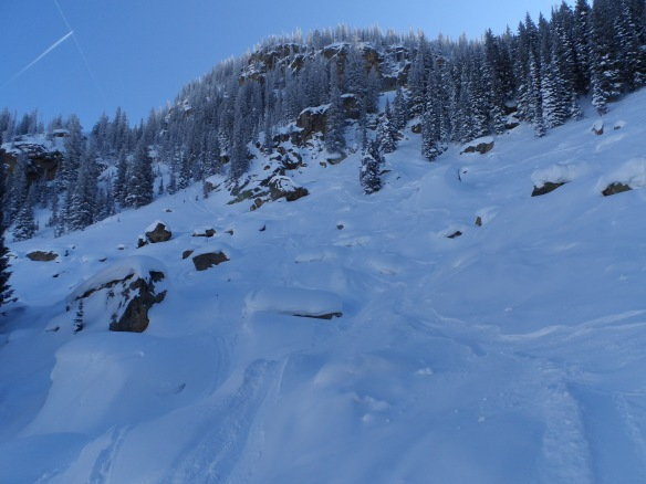Terrain in Steamboat's backcountry.